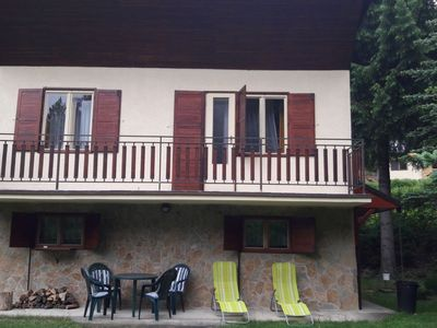 Photo for House 808 m from the center of Omšenie with Parking, Washing machine, Balcony, Garden (130735)
