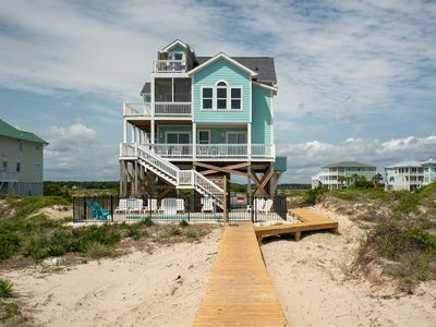 Photo for 5 BR, Oceanfront, Pool, Massive Views, Weddings, Featured on HGTV: Once Upon A Tide