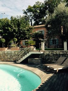 Photo for Traditional Bastide, totally renovated in charming house with pool, teak terrace