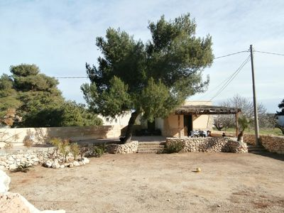 Photo for Rustic house in Salento with gazebo 150 meters from the sea