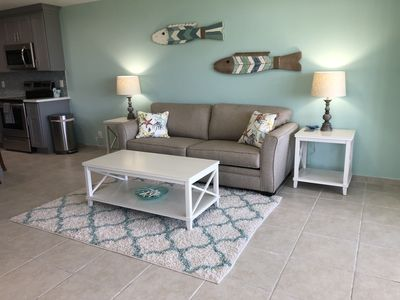 Photo for Sapphire Beach - SeaSide Bliss 1 Bedroom/2 Bath retreat with ocean view