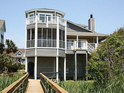 Photo for Turtleopia: 5 BR / 3.5 BA home in Oak Island, Sleeps 12