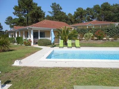 Photo for Villa eden park, 2 bedrooms, private pool on the golf