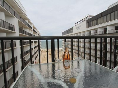 Photo for OCEAN VIEW!  ROOF TOP POOL, LINENS & DAILY ACTIVITIES INCLUDED*!.  Fashioned for comfort describes this charming unit with straight ahead ocean views from all rooms