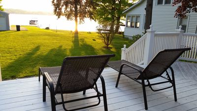 Photo for *Owasco Lake Waterfront* 4Season Porch & Master Suite. 6 beds / 10 people.