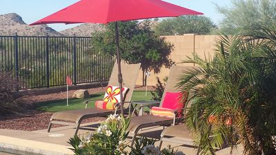 Photo for Estrella Mountain Vacation Home with heated Pool