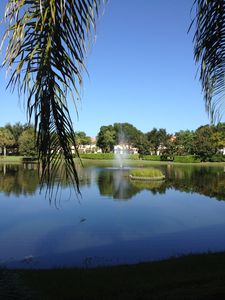 Photo for Naples Condo / Carriage Home with Tranquil Sunset Pond View