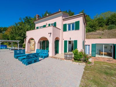 Photo for Bike e Relax Villa in the hills of Finale Ligure