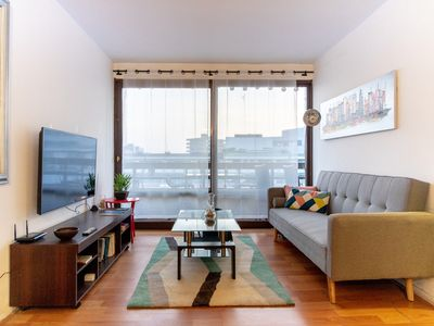 Photo for Huge 3br with Gorgeous Terrace near Costanera Ctr