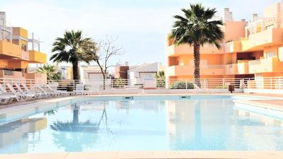 Photo for 2BR Luxury Wifi Penthouse Terrace Sea View Royal Cabanas Golf