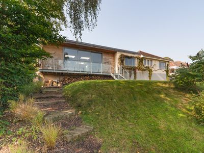 Photo for Large open plan family home with stunning views, walking distance to Bath city