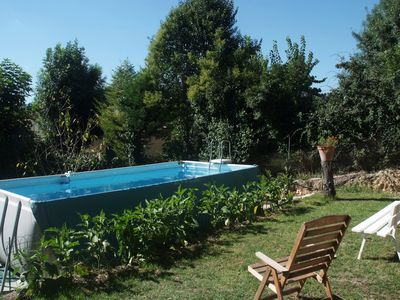 Photo for House in green, close to the sea, pool, ideal 5 people, 2 bedrooms