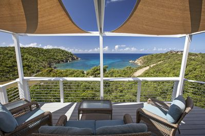 Picture perfect views over Kiddel Bay