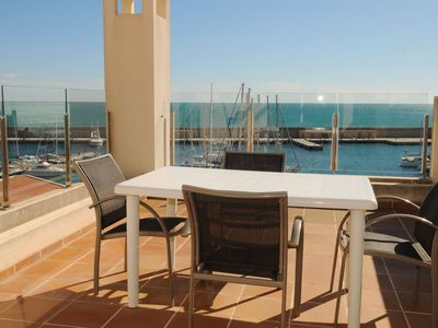 Photo for Spacious Duplex Overlooking The Harbour Residencial Marina Del Port 31