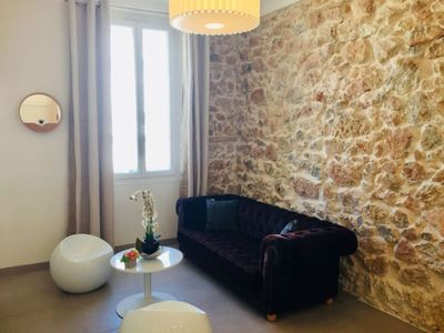 100m Croisette, luxurious T3, 2 bedrooms & 2 bathrooms, air conditioned.
