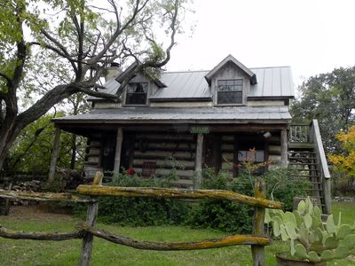 Photo for Secluded Log Cabin Located In Town