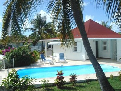 Photo for Rental villa near beach with private pool in Guadeloupe