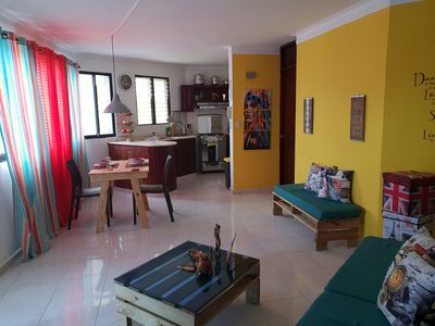 Photo for Beautiful 1bd Aparment ready for your Visit to Santiago! Near to Everything!!