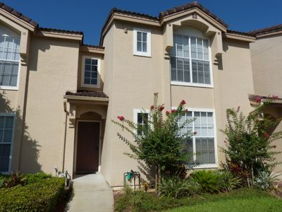 Photo for Spacious 2 bed 2 bath townhome with community heated pool and spa at gated community Mango Key near Disney, Orlando, Florida
