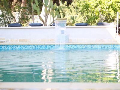Photo for Villa with stunning sea views, private pool, beautiful terraces, sleeps 6