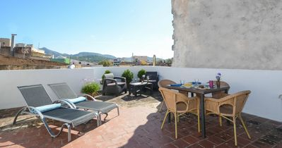 Photo for Sunset Es Celler - Apartment with roofterrace and barbecue