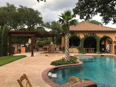 Photo for Villa at Cibolo Chase - 11 acres with private pool