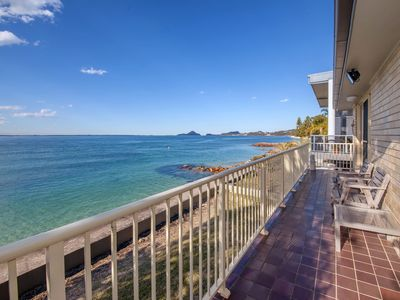 Photo for Stunning views from a waterfront unit!