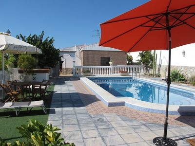Photo for Cortijo El Pino, holiday home with private, hidden pool,