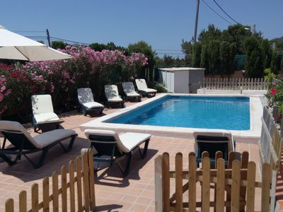 Photo for Cozy Holiday Home in St Josep de sa Talaia with Private Pool