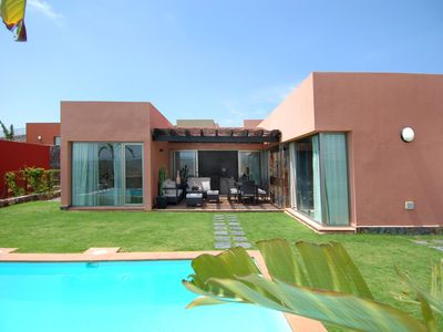 Photo for Par 4 Villa 11, Two bedroom villa with private pool and terrace for 4