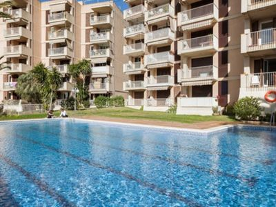 Photo for Sitges: APARTMENT WITH POOL