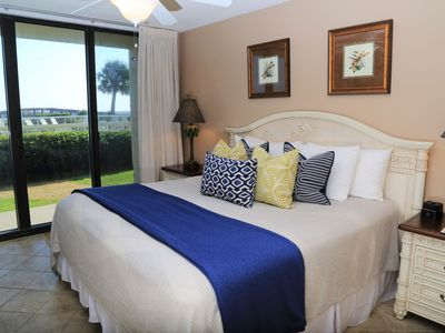 Photo for NEW RENTAL Seaside Beach & Racquet 3104~Gulf Front/Ground Level~Indoor Pool, 2 Outdoor Pools ~ Prime