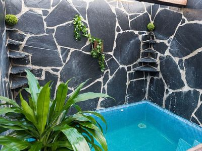 Photo for OFFERS IN MAY639220433 Ask with PRIVATE INDIVIDUAL SWIMMING POOL for 2 people