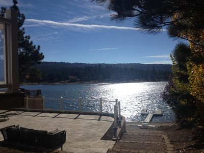 Photo for Lake Front Home on Metcalf Bay, Sunset Views, Private Deep Water Dock from $295