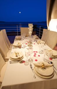 Photo for CHIS VIS Holiday -  Luxury Beachfront villa  JULY 8-16 FREE  WiFi Boat Mooring