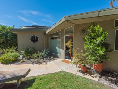Photo for Peaceful, Completely Remodeled, Central Palm Springs Spa Like Oasis