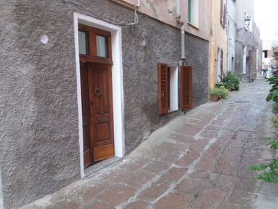 Photo for Apartment located in the wonderful cen. stor. of Castelsardo 2 steps from the sea