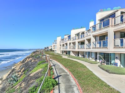 Photo for Sunset Dreams! With AC, 2 Bed, 2.5 Bath, Sleeps 5, Ocean View, Steps to Beach