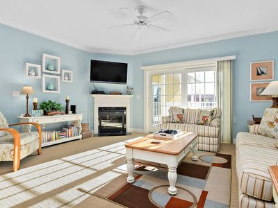Photo for Beautifully Appointed 3BR2.5 BA Condo With Peaceful Canal Views & a Pool