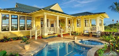 Photo for Kukui'ula Makai Cottages #19: Large Custom Home with Ocean Views & private pool