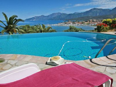 Photo for Sea view, landscaped garden and private pool, St Florent