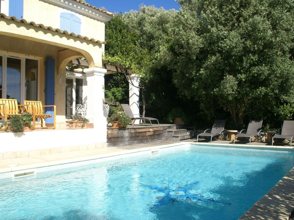 Cavalaire Sur Mer House Rental   Holiday Home Exterior [summer]