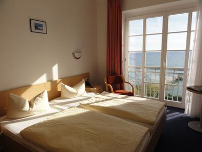 "Photo for DZ 04th Standard with sea view - Hotel garni ""Meeresgruß"" ***"
