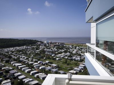 Photo for Beachfront apartment FB13. 04 with sea view