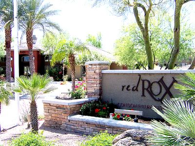 Red Rox is a beautiful gated community.