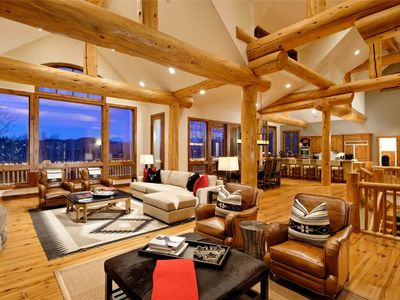 Photo for Cascade Lodge - Luxury 5 bedroom ski in/ski out on Cascade Ski Run in Two Creeks
