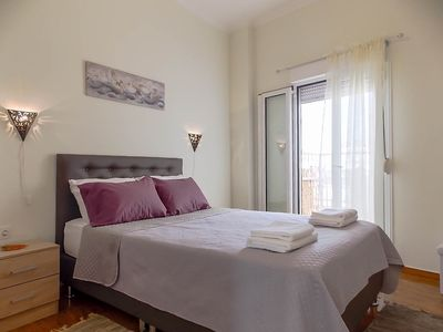 Photo for Very central in Athens and with easy access to metro station, renovated penthouse up to 4 persons.