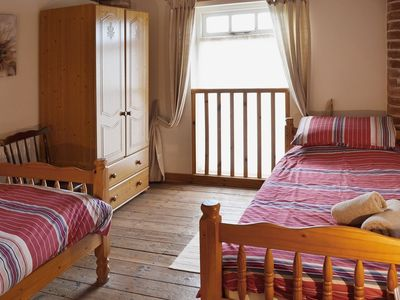 Flamborough Cottage Rental   Twin Bedroom