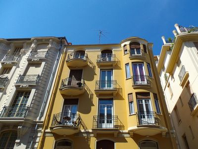Photo for Love Nest in Palais Mistral Art Deco 65 m2 flat Nice centre 2 bedrooms 3rd floor