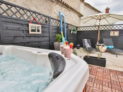 Photo for Holiday House Maison M with jacuzzi